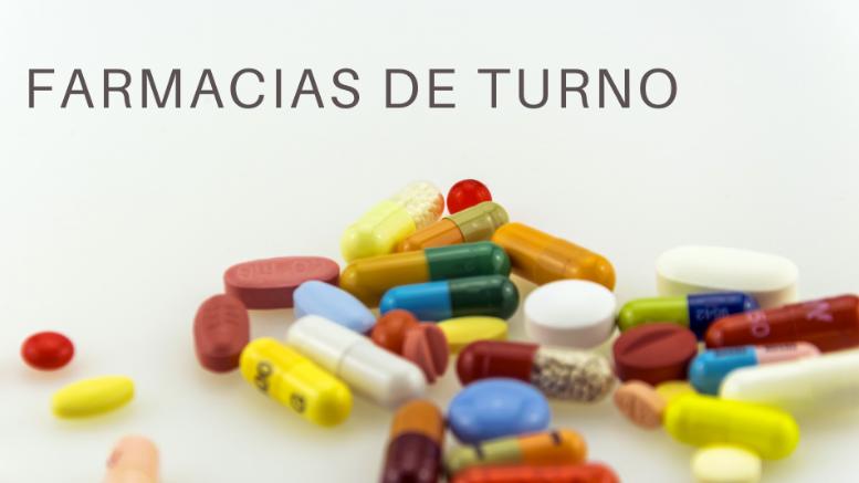 Farmacias de Turno en la Región Metropolitana.