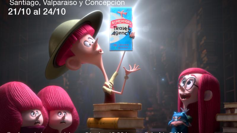 Seminario de Efectos Visuales para Cine y TV – VFX Chile.